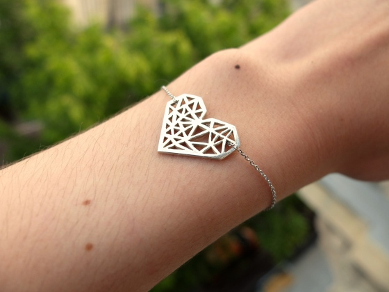 Le bracelet coeur de Céline Schener