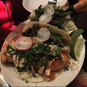 Beef Tacos & Crispy Fish Tacos