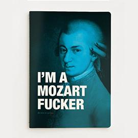 Carnet de notes Mozart, JUNIQUE, 10€