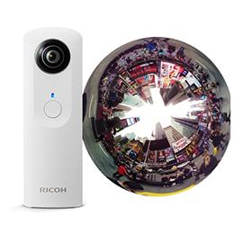Camera 360° Ricoh, BOULANGER, 299€